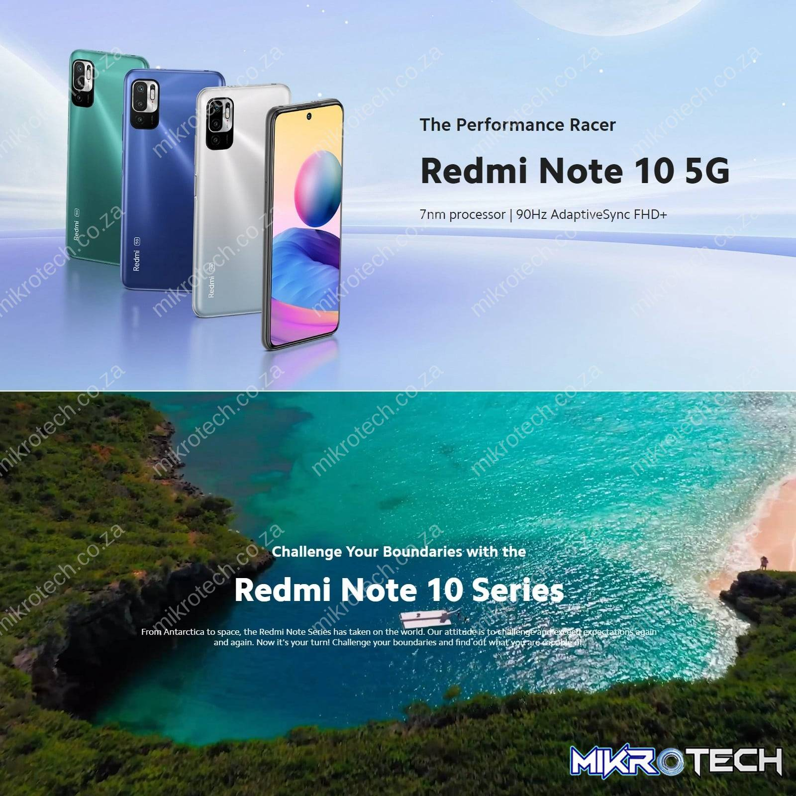 Xiaomi Redmi Note 10 5G Android Smartphone (Google Play Not Supported)