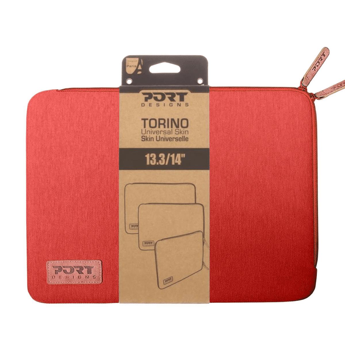 Port Designs TORINO Sleeve Notebook Case 13.3-inch Sleeve Case Red