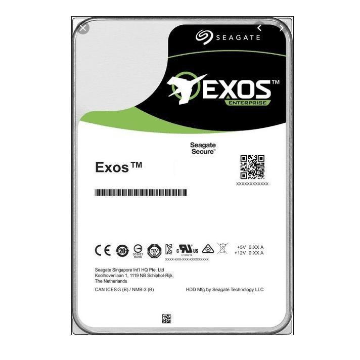 Seagate Exos X16 3.5-inch 16TB Serial ATA III Internal Hard Drive ST16000NM001G