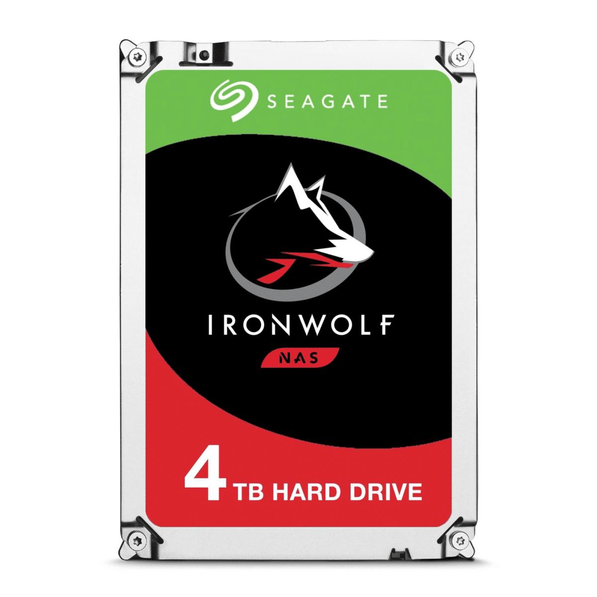 Seagate IronWolf ST4000VN008 3.5-inch 4TB Serial ATA III Internal Hard Drive