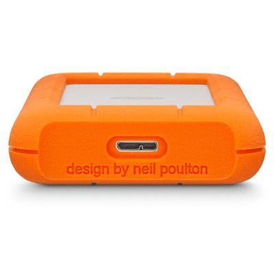 Seagate Rugged Mini 2TB Orange and Silver External Hard Drive LAC9000298