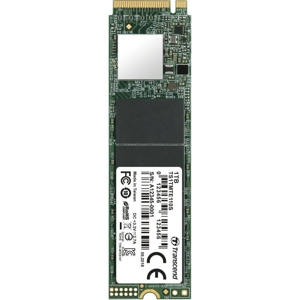 Transcend 110S M.2 1TB PCIe 3.0 3D NAND NVMe Internal SSD TS1TMTE110S