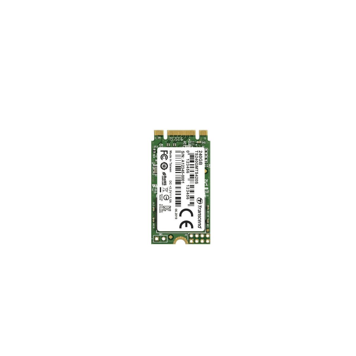 Transcend M.2 420S 240GB Internal SSD TS240GMTS420S