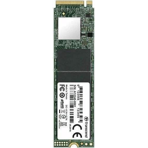 Transcend PCIe 110S 512GB Internal SSD TS512GMTE110S