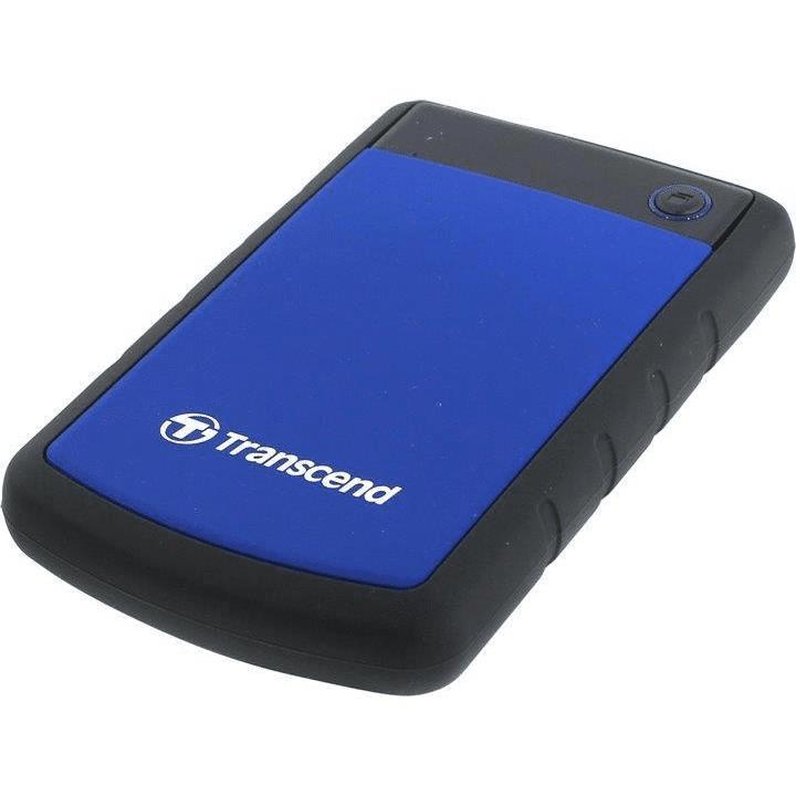 Transcend StoreJet 25H3 1TB Blue External Hard Drive TS1TSJ25H3B