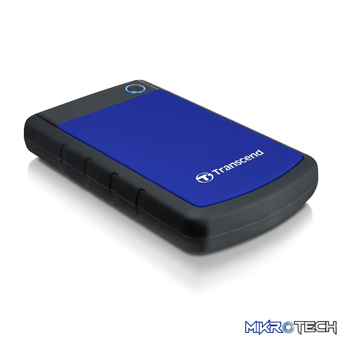 Transcend StoreJet 25H3 2TB Blue External Hard Drive TS2TSJ25H3B