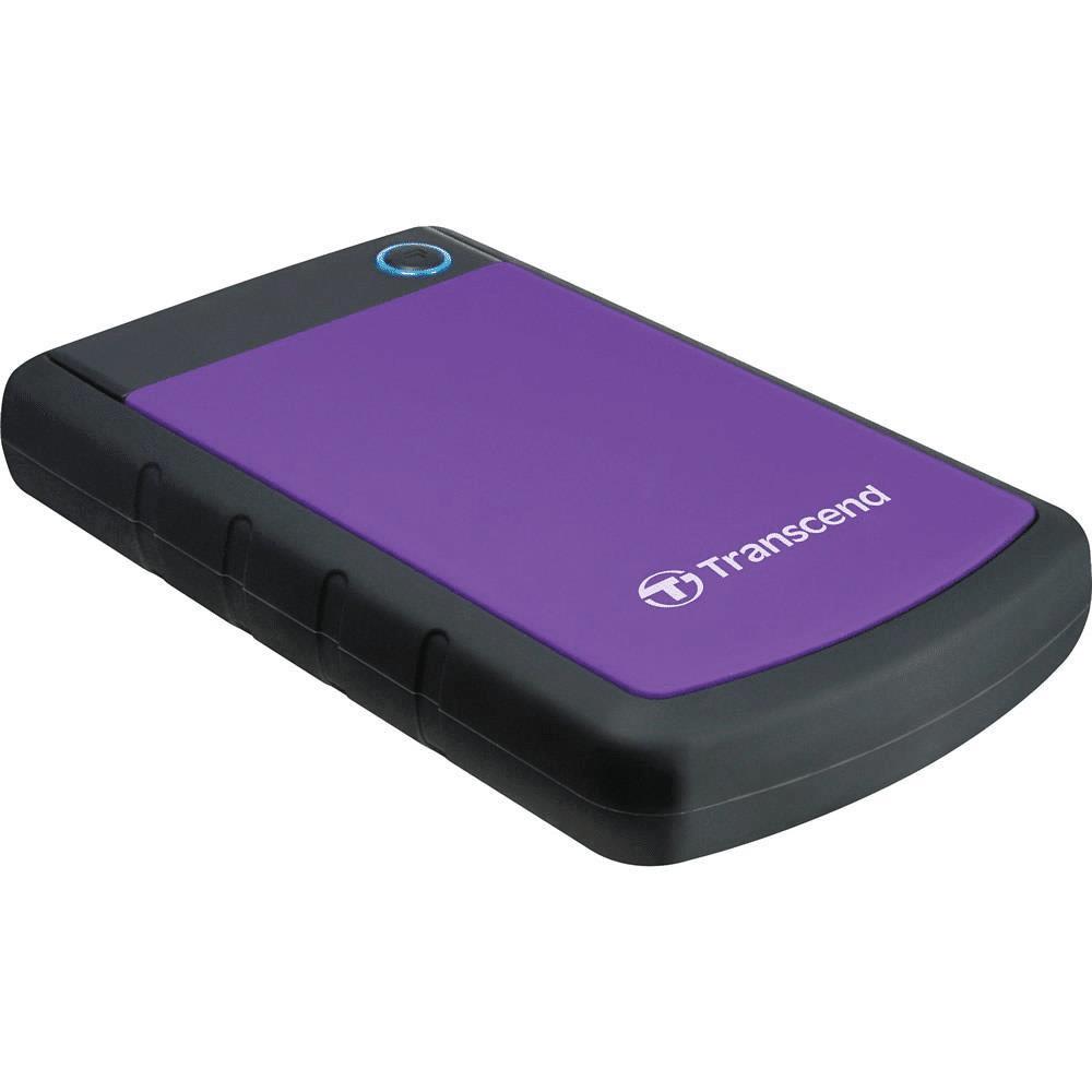Transcend StoreJet 25H3 2TB Purple External Hard Drive TS2TSJ25H3P