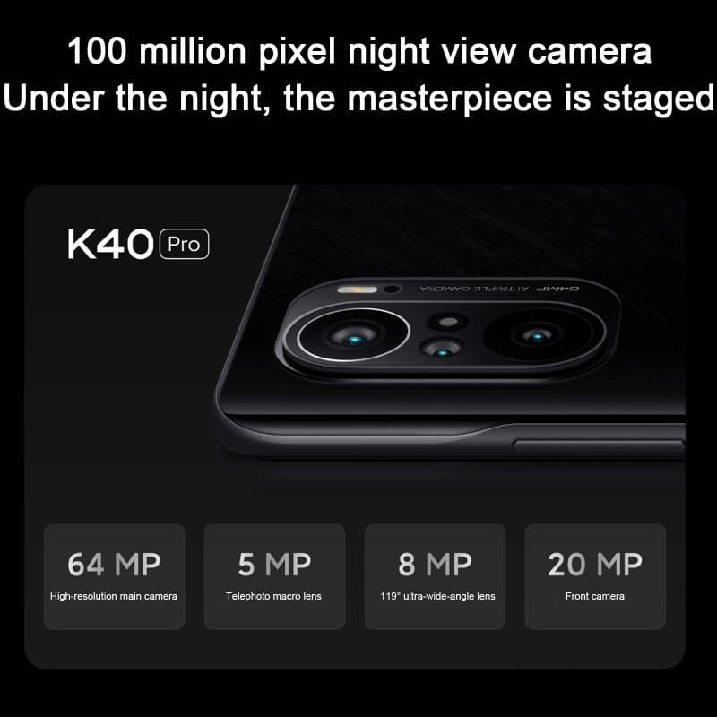 Xiaomi Redmi K40 Pro 5G Android Smartphone