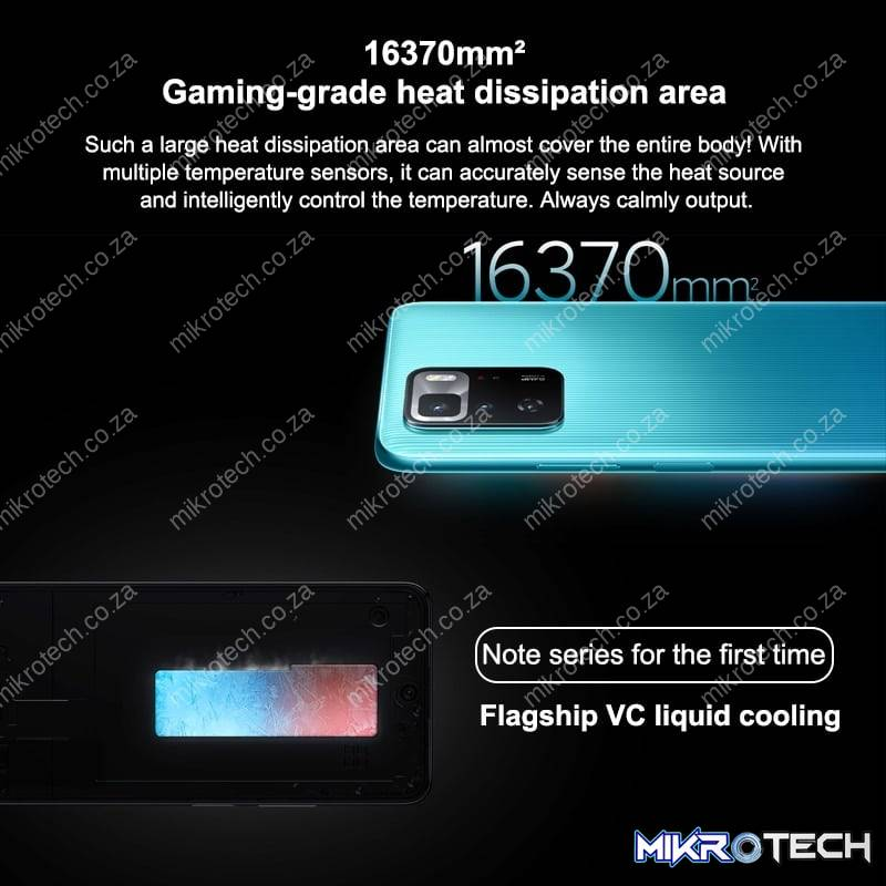Xiaomi Redmi Note 10 Pro 5G Android Smartphone (Google Play Not Supported)