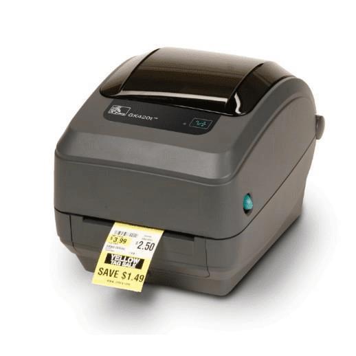 Zebra GK420t Label Printer - Direct thermal / thermal transfer 203 x 203 dpi Wired GK42-102520-000