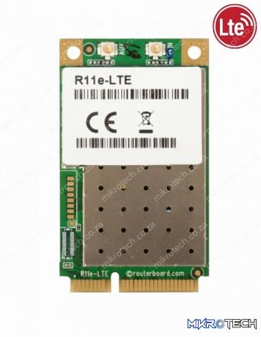 MikroTik R11e-LTE - LTE miniPCI-e card