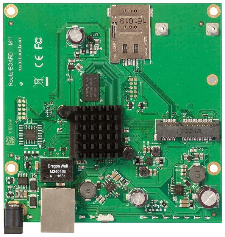 MikroTik RouterBOARD M11G with 1 Gigabit LAN